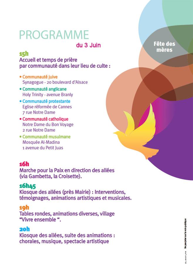 3 JUIN 2012 -  2ème Festival Vivre Ensemble A Cannes
