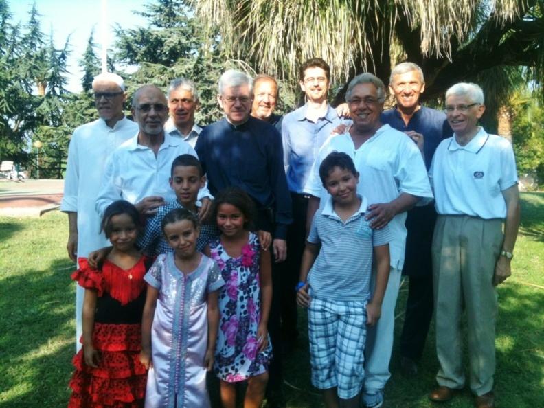 VEAC fête l'Aïd avec les musulmans de la mosquée de Cannes
