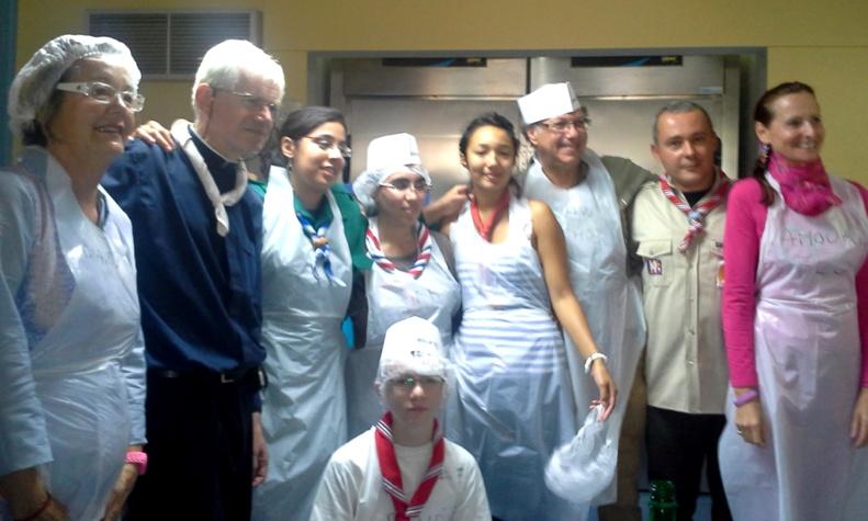 L'Atelier Cuisine du VEAC en pleine action pour le 3ème Festival !!!