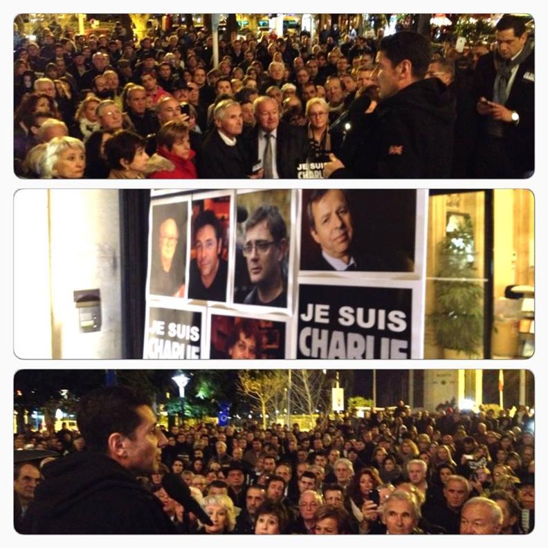 """Vivre ensemble à Cannes : Dimanche, rassemblement aux """"Allées de la Liberté"""" à 12h30..."""