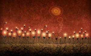 """Nous associons nos """"lumières"""" respectives afin d'éclairer du fond du coeur cette fin d'année 2016 et faire pour 2017 un terreau lumineux de joie et de fraternité."""