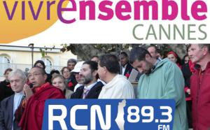Radio Shalom et Alexandre Rosenberg à la rencontre des responsables de Vivre Ensemble A Cannes