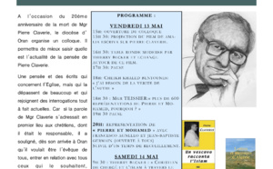 Evénement : Algérie - Colloque Pierre Claverie