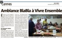 IL A EU LIEU LE BLABLA CAFE DE LA RENTREE LUNDI 5 SEPTEMBRE A 19H00 A CANNES... Super moment !!!