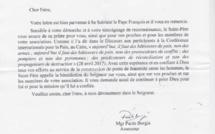"""Le Pape François encourage le """"Vivre Ensemble à Cannes"""" !"""
