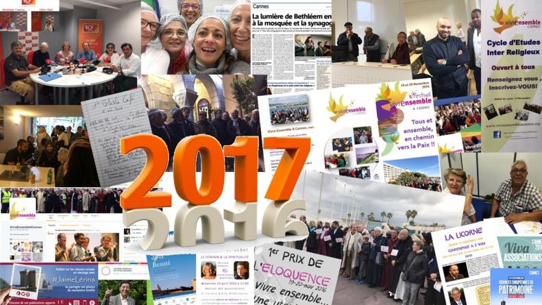 Belle, belle, belle...nouvelle et pleine d'espoirs, de rêves et d'engagements, l'année 2017 vivons la ensemble vers la Paix !