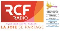 """RCF Nice-Côte d'Azur en Novembre 2017... Ecoutez les émissions hebdomadaires Vivre Ensemble A Cannes, """"Croyants, ensemble vers la Paix ! !"""