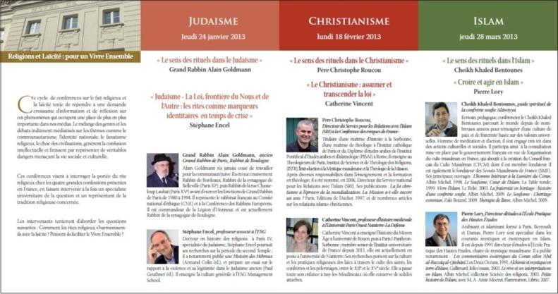 """Voir toutes les vidéos de """"Religions et Laïcité, pour un Vivre Ensemble: nouvelles laïcités en Europe... """"Avec le Cheikh Khaled Bentounes"""