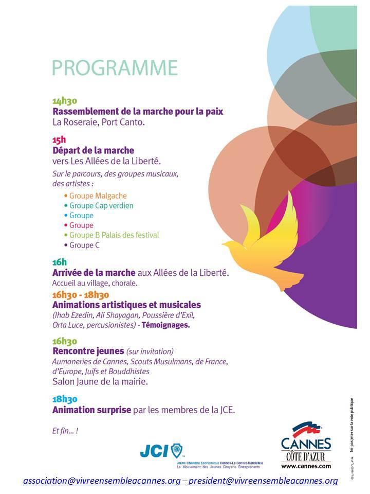 Affiche du 3ème Festival VEAC du 29 septembre 2013