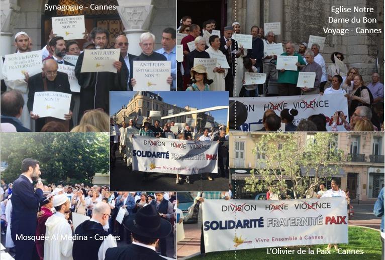 10 Mai 2015 : Grand rassemblement interreligieux contre la haine et la violence, pour la fraternité et pour la paix