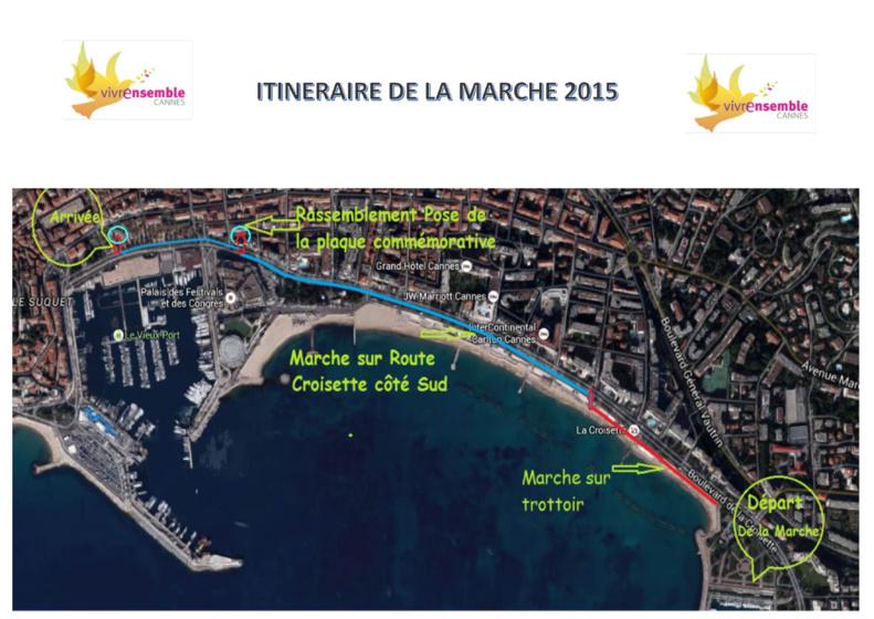 10-11 OCTOBRE 2015 - Le 5ème Festival Vivre Ensemble A Cannes se précise...