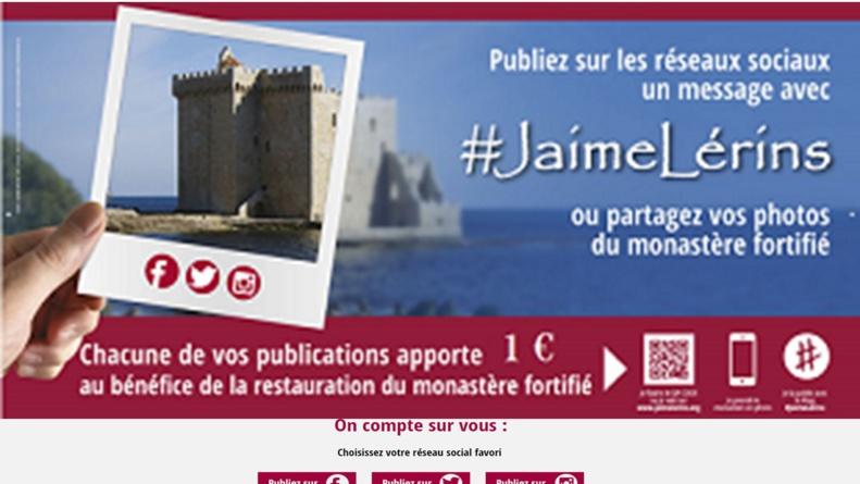 Restaurer et valoriser le riche patrimoine monumental de l'île Saint Honorat en 1 clic !
