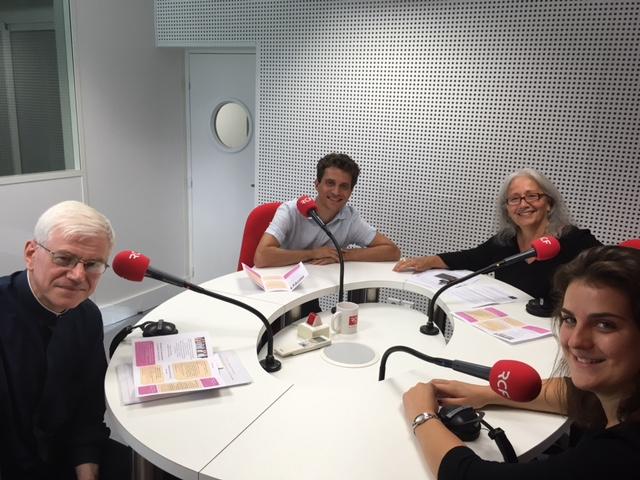 """RCF Nice-Côte d'Azur en Décembre... Demandez le programme et écoutez les émissions hebdomadaires Vivre Ensemble A Cannes, """"Croyants, ensemble vers la Paix ! !"""
