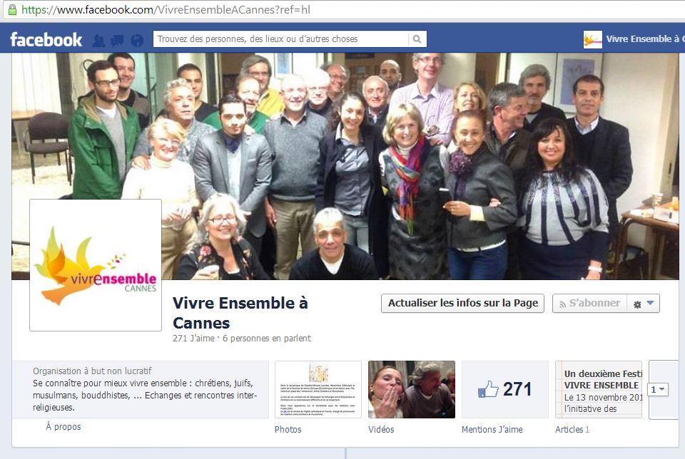 Retrouvez-nous sur notre page Facebook...