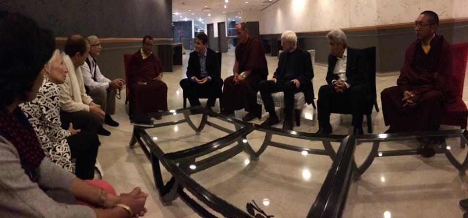 Rencontre avec Shamarpa, grand maître bouddhiste tibétain...