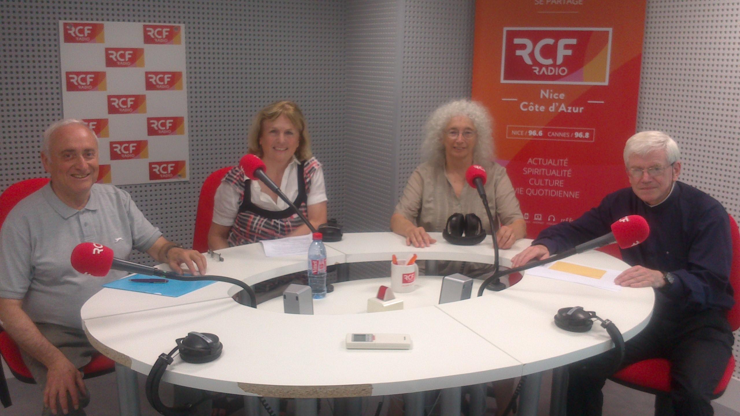 """RCF """"Croyants, ensemble vers la Paix""""...Emissions de Juin 2016"""