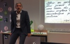 VIDEO N° 2 : RENCONTRES DE FOOTBALL FOOT 4 FOOD - REUNION TECHNIQUE TAYEB BELMIHOUB - PRESIDENT DES TERRAINS DE LA PAIX