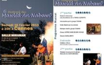 Festival du Mawlid à Cannes... Les soufis invitent le VEAC !