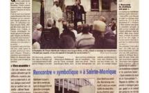 Jean-Jacques Barla - Membre du VEAC - à la Mosquée pour le Diocèse...