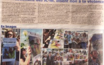 Communiqué Vivre Ensemble à Cannes + édition de Cannes de Nice Matin