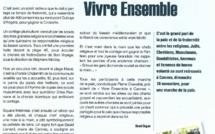 """""""Grand pari de Paix et de Fraternité"""" pour le journal de l'Eglise des Alpes Maritimes !"""